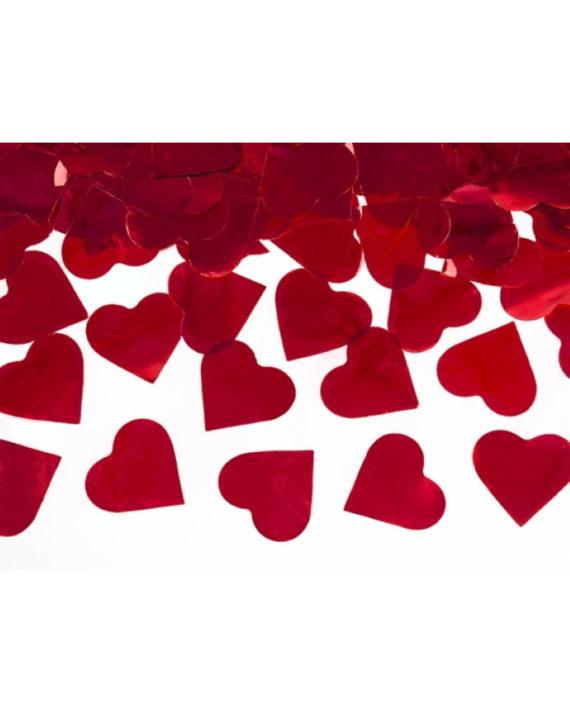 Konfettitykki sydämet
