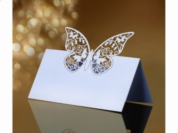Paikkakortit perhonen
