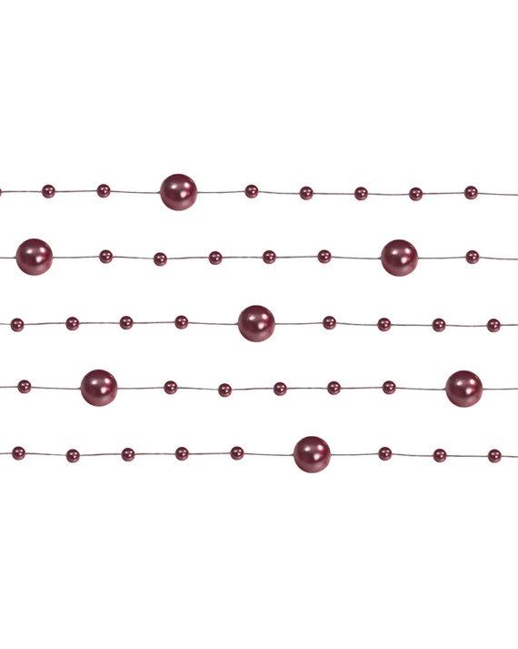 koristehelminauha-tummanpunainen