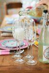 Pip Studio Floral samppanjalasit juhlakattaus