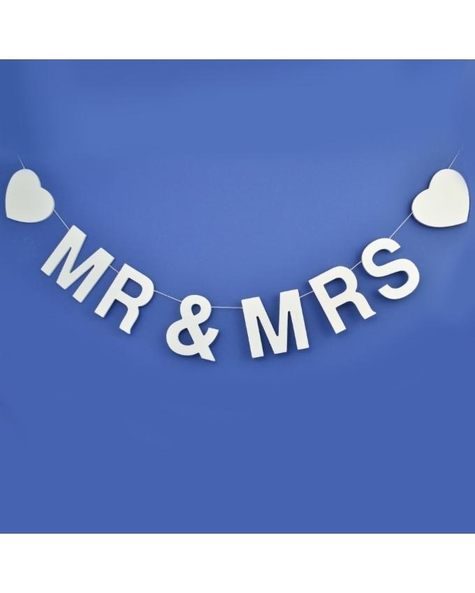 Mr & mrs banneri