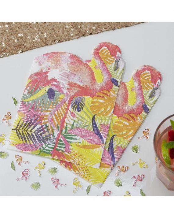 flamingo servetit