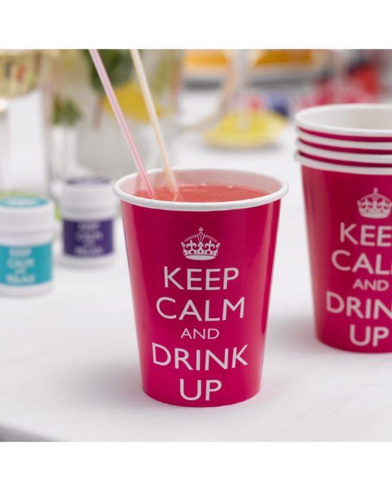 Keep calm kertakäyttömukit