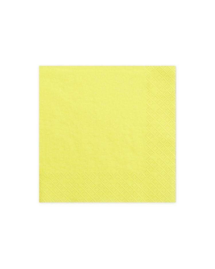 keltaiset servetit