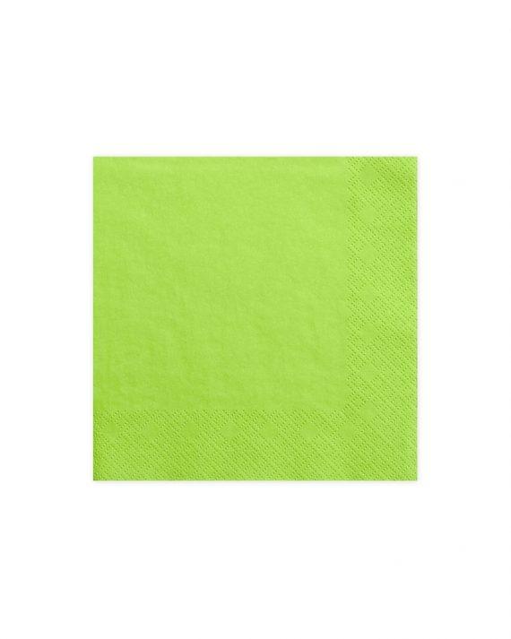 vihreät servetit