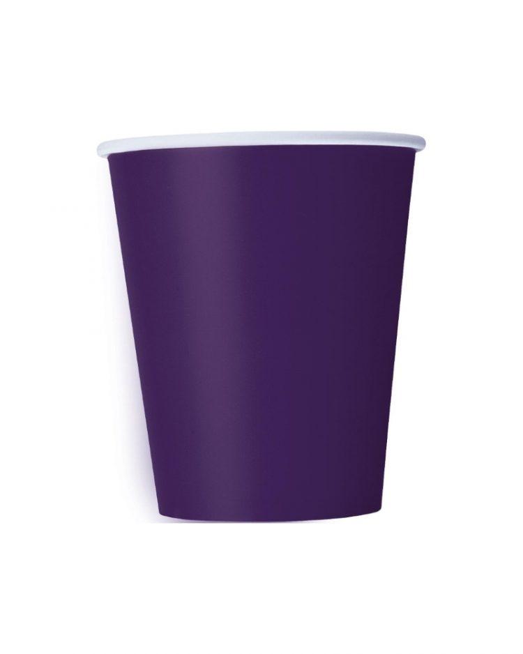 Violetit kertakäyttömukit