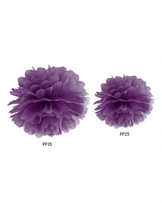 Pompom violetti