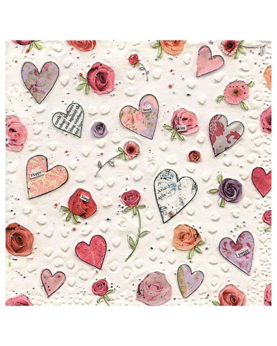 sydän-lautasliinat
