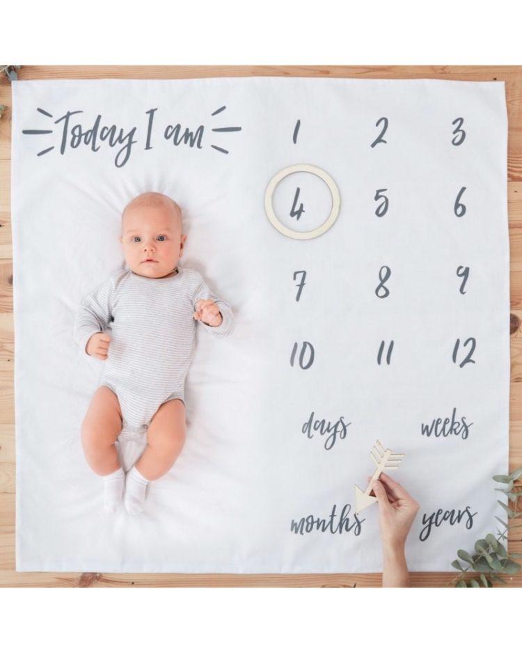 Vauva milestone kuvausalusta