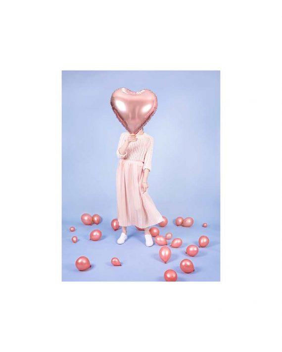 Foliopallo iso sydän