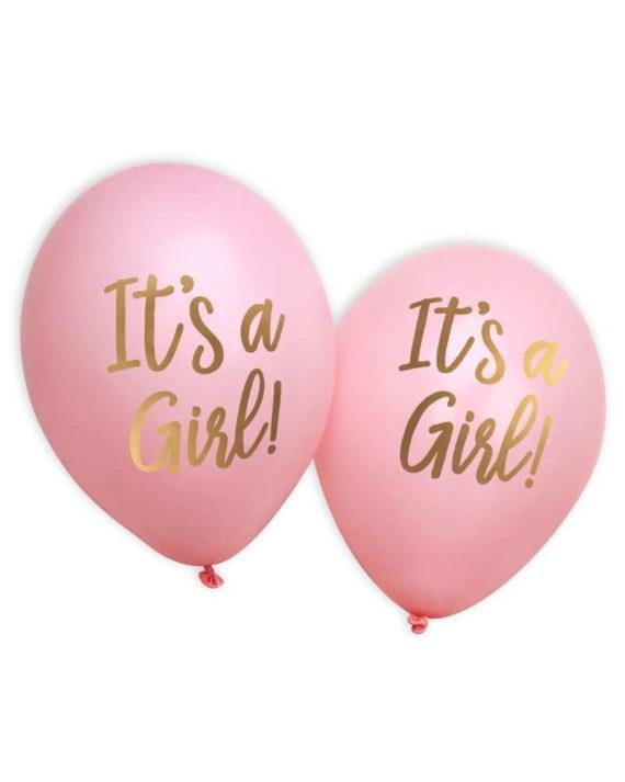 It's a girl ilmapallot