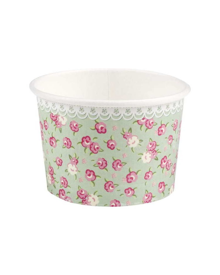 Kukkaset jäätelökipot