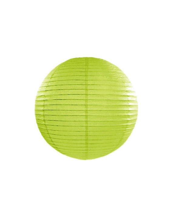 Vaaleanvihreät paperilyhdyt