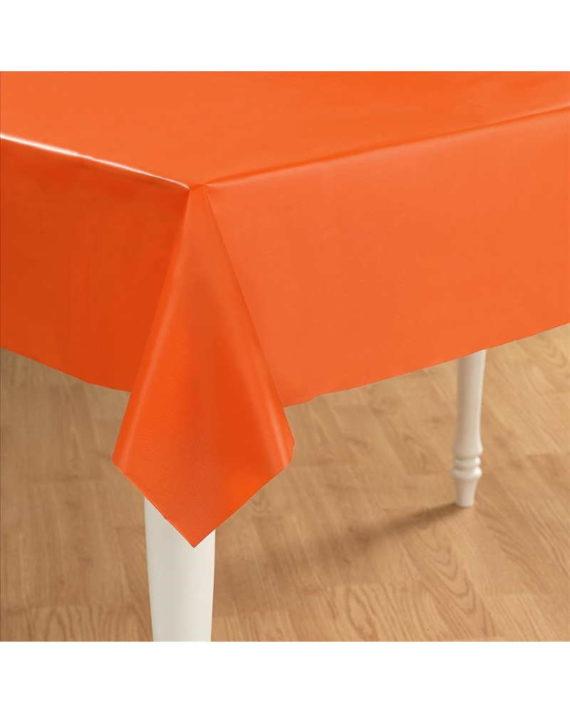 Oranssi kertakäyttöpöytäliina