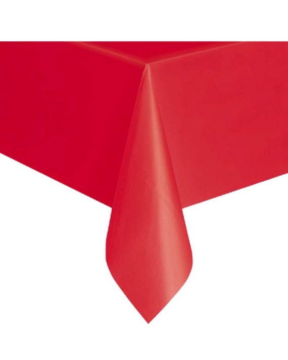 Punainen kertakäyttöpöytäliina