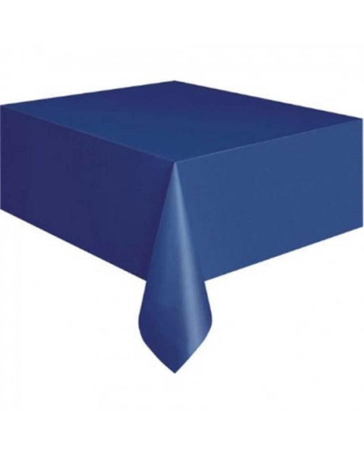 Sininen kertakäyttöpöytäliina