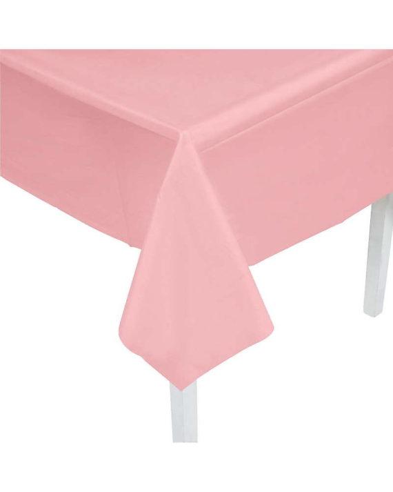 pöytäliina-vaaleanpunainen